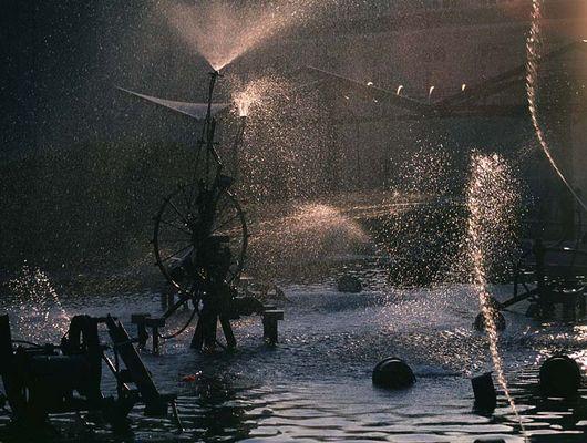 Tinguely-Brunnen in Basel