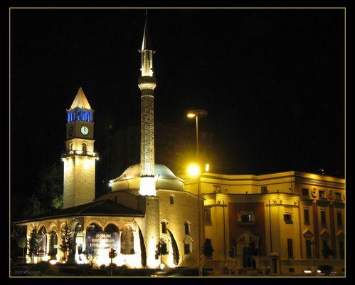 Tirana in the Night