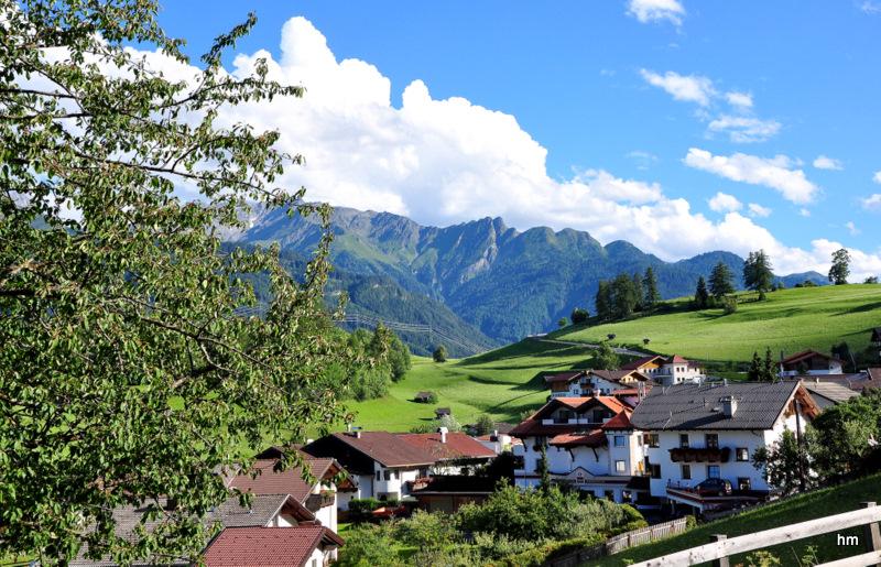 Tiroler Berge in Ladis (A)