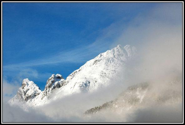 Tiroler Himmel, Wolken & Schnee