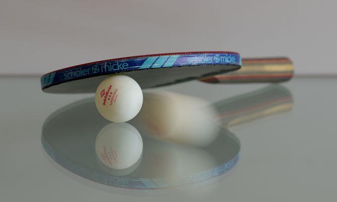 Tischtennis ist mit einer der schnellsten Sportarten der Welt.