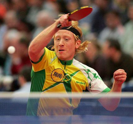 Tischtennis kann so schön bunt sein