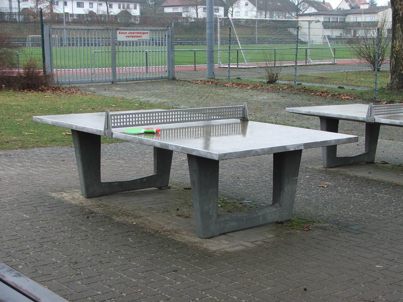 Tischtennisplatte outdoor aus Beton in Aschaffenburg
