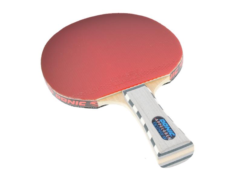Tischtennisschläger Donic Applegren Exclusive AR mit Nikon D3000 im Lichtzelt