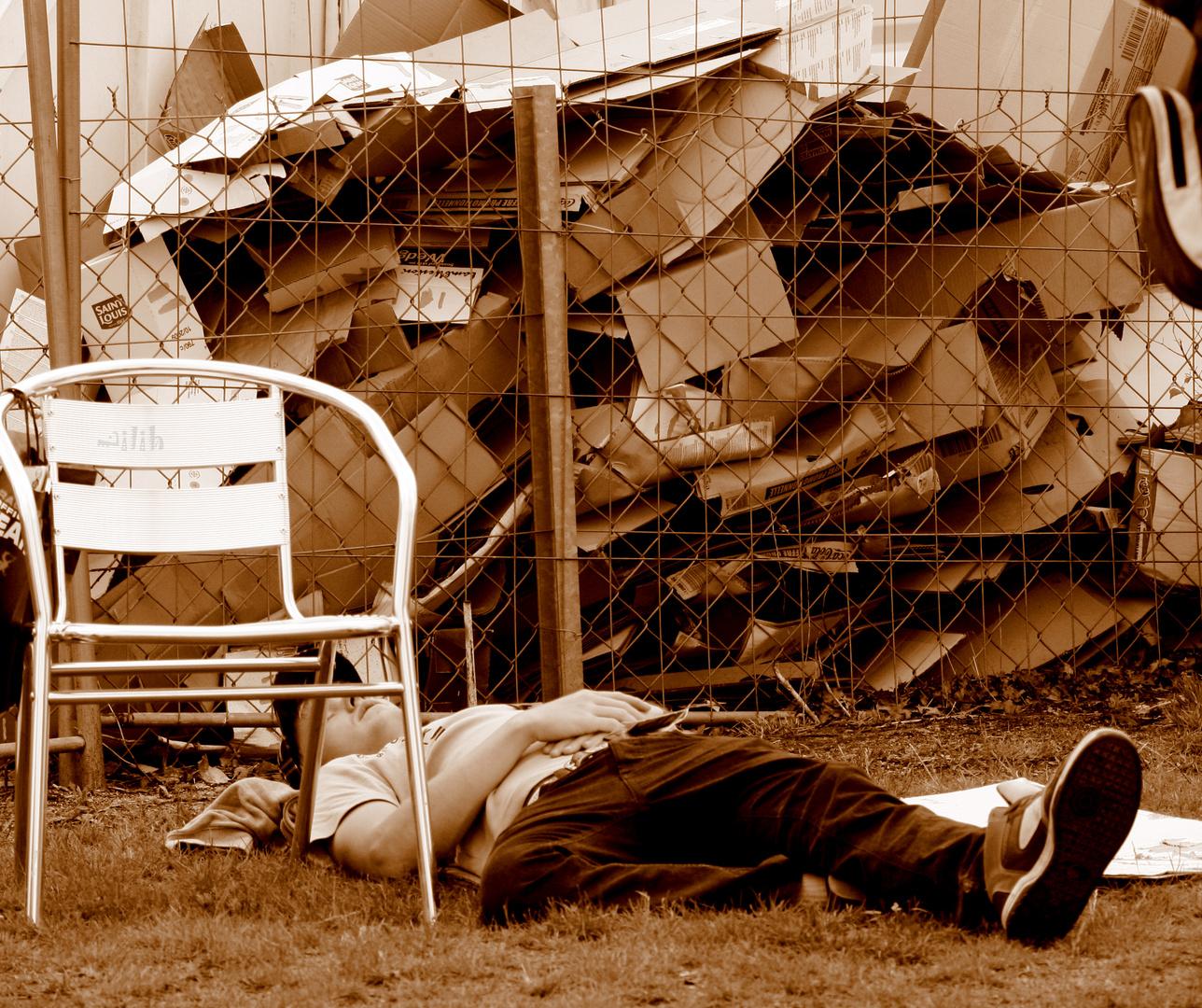 Tite sieste pendant les 24 du Mans
