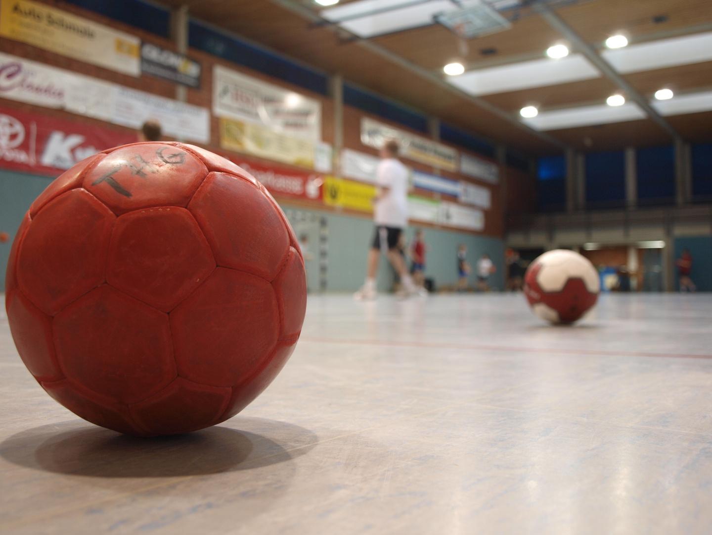 "Titelbild zum Thema ""Handball"" - Projektwoche"