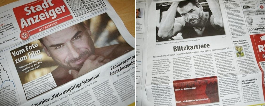 Titelblatt / Seite 3 in einer Dortmunder Zeitung 25.9.13