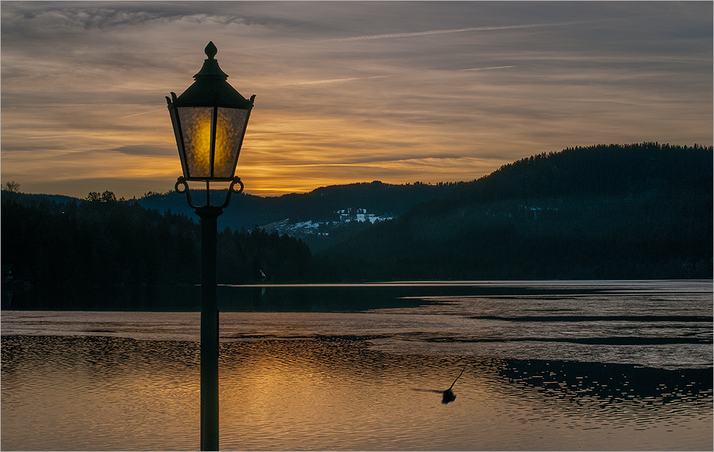 Titisee am Abend
