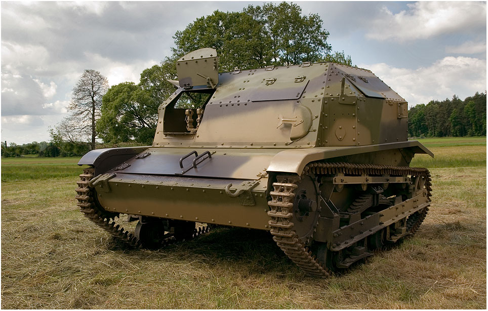 TK-3 polnische Tankette