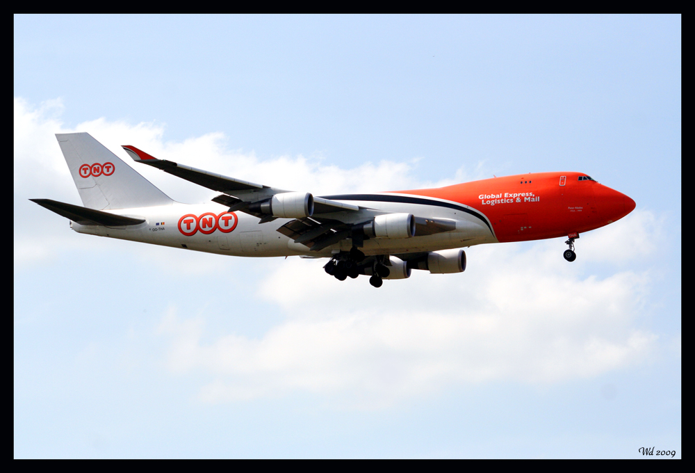 TNT Boeing 747 Cargo
