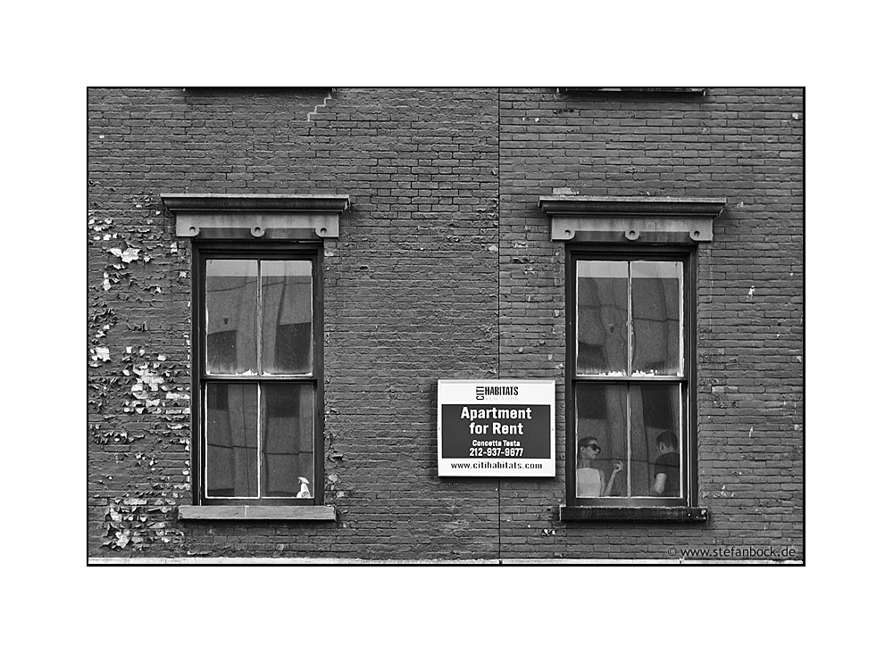To Rent, New York City Serie XXVI
