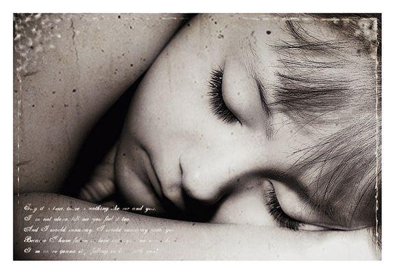 to sleep like a log....