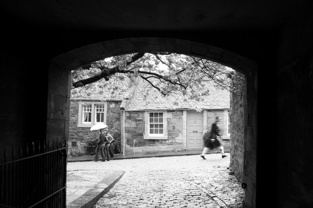 To the wedding - Linlithgow, Scotland