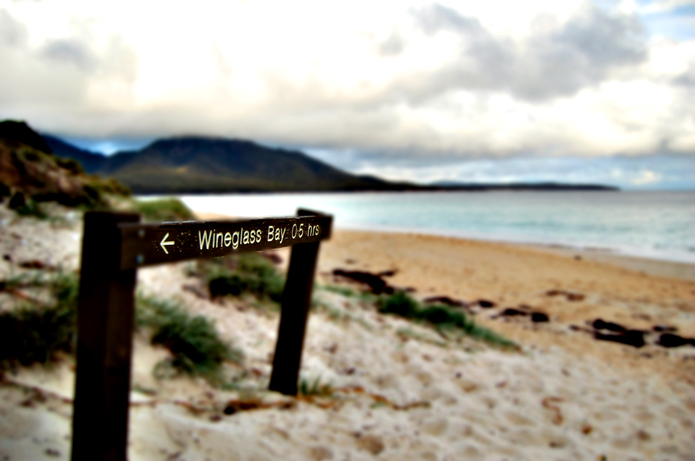 to wineglass bay