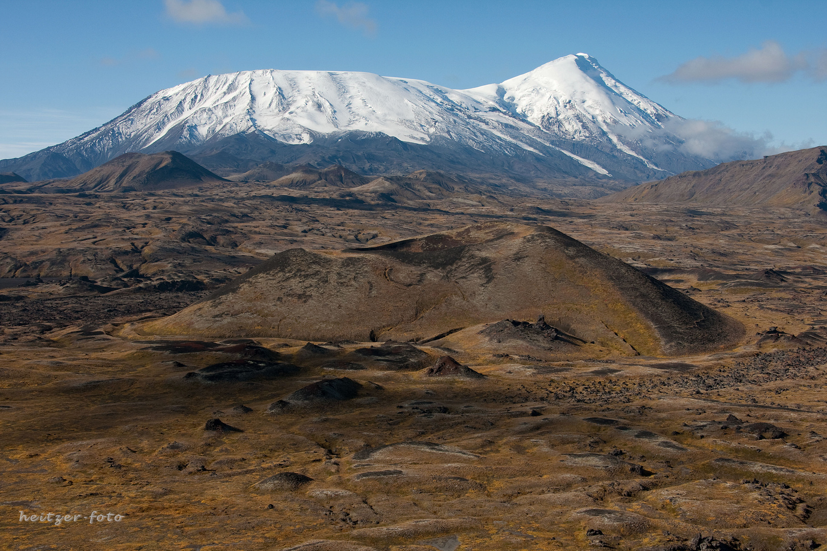 Tobacik und Marskrater in Kamtschatka
