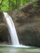 Tobelbach, hinterer Wasserfall II