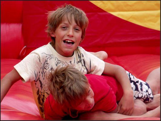 Tobias und sein Bruder