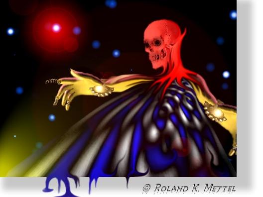 Tod im All (Elfi Kaut gewidmet)