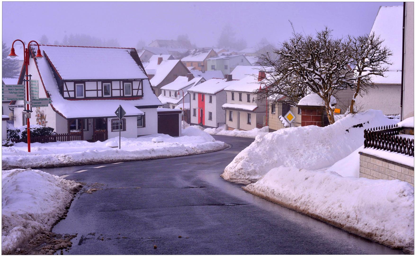 Todavía mucha nieve (immer noch viele Schnee)