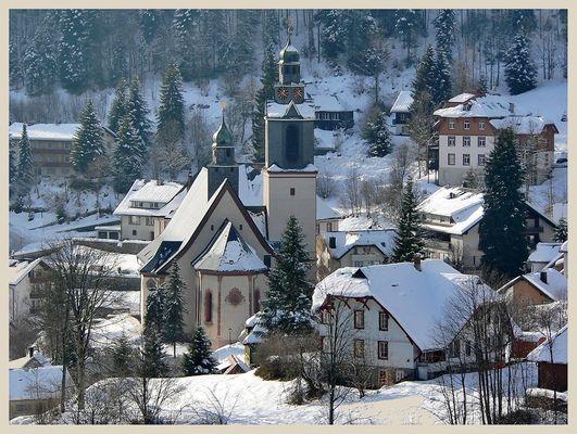 """Todtmoos - Wallfahrtskirche """"Unserer Lieben Frau"""""""