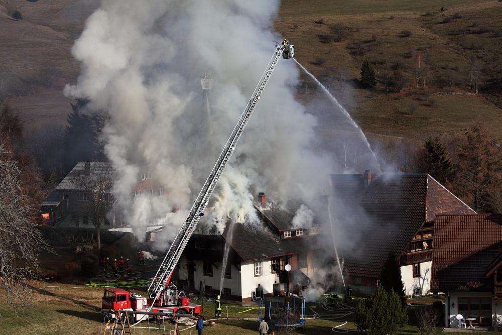 Todtmooser Feuerwehr im Einsatz