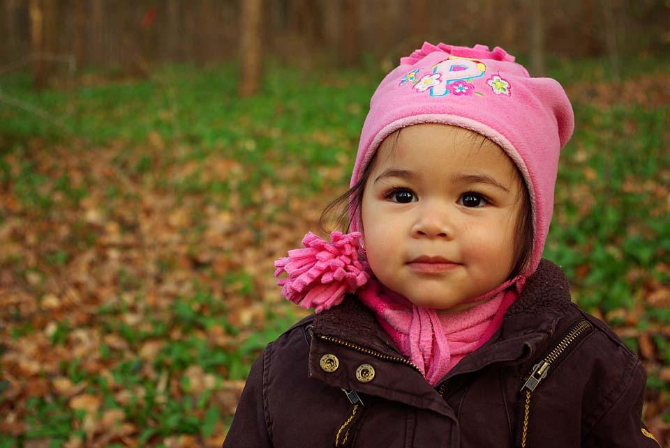 Töchterlein im Wald