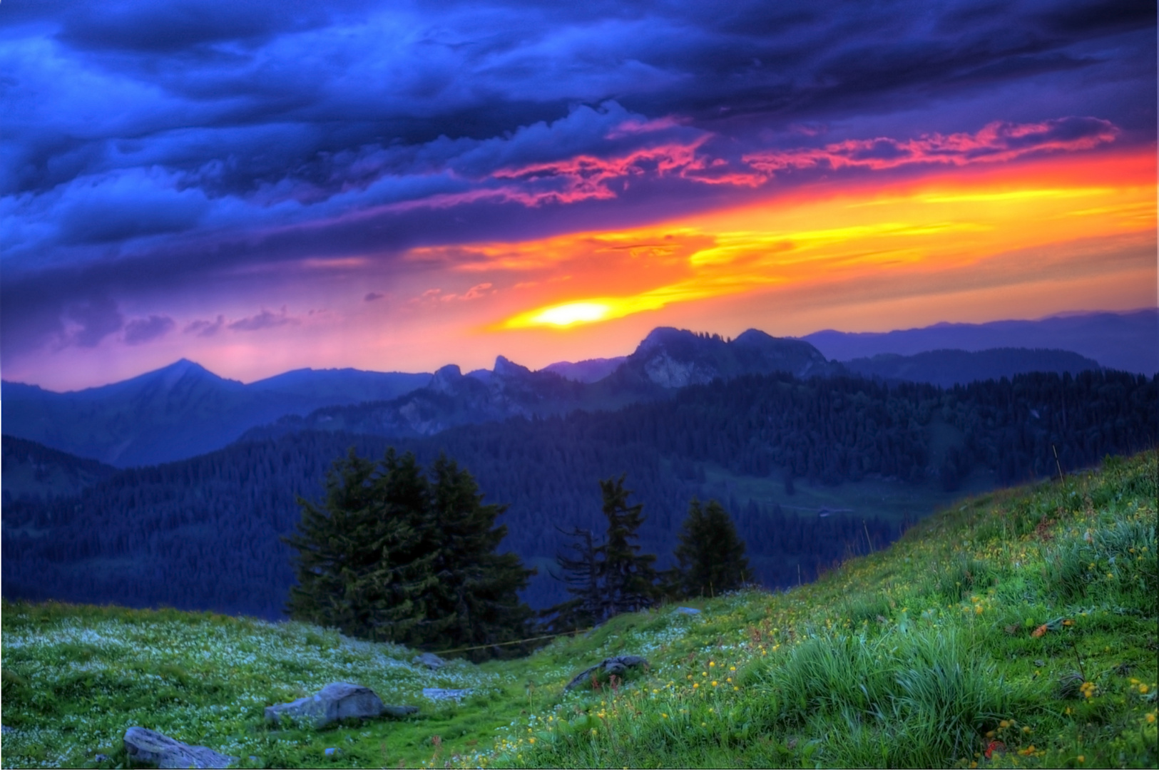 Toggenburg Sunset