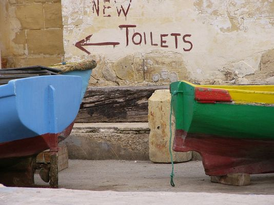 Toilets and ships