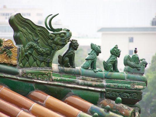 Toit de Pékin