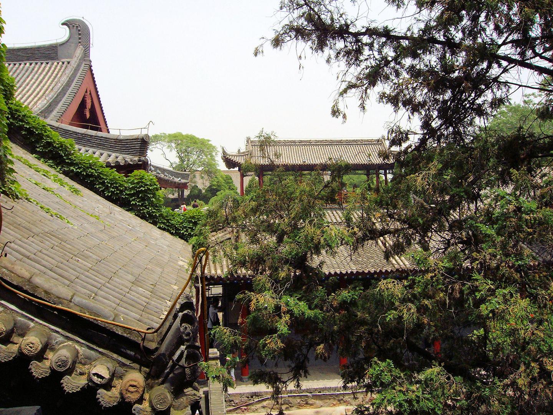 Toits de l'ancienne Chine...