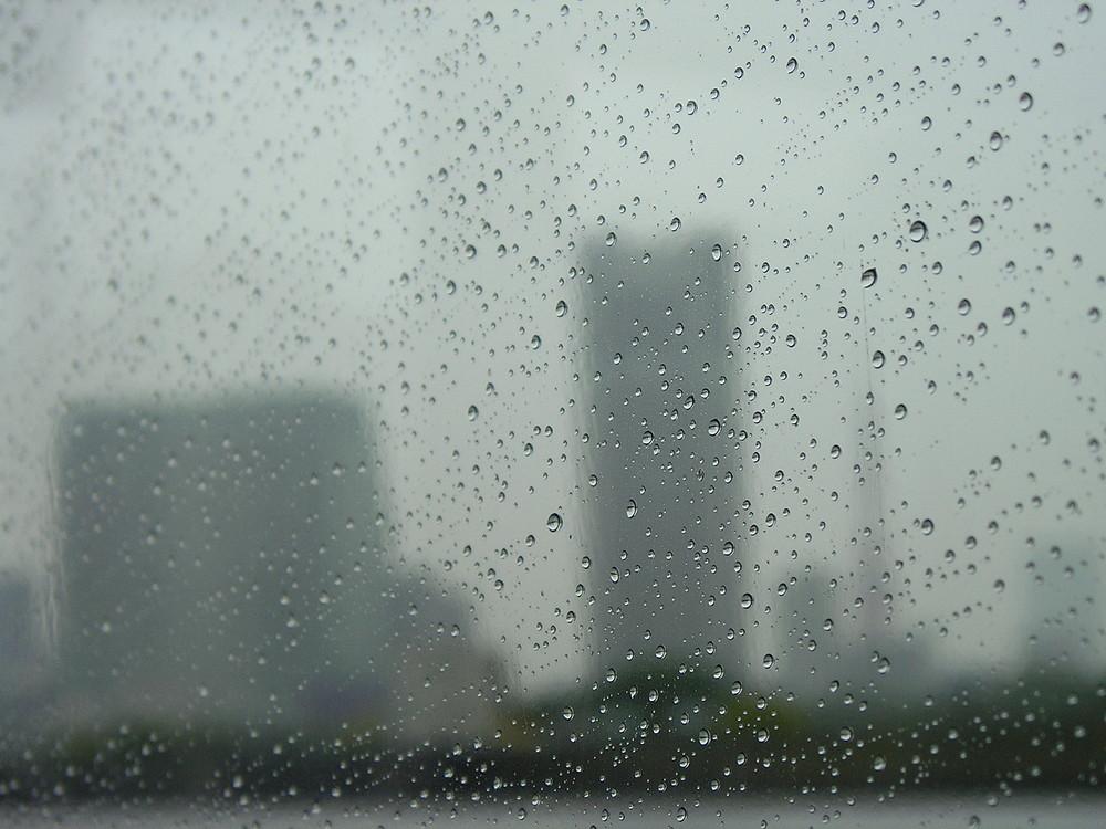 Tokyo Bay Cruising - Hard to see anything