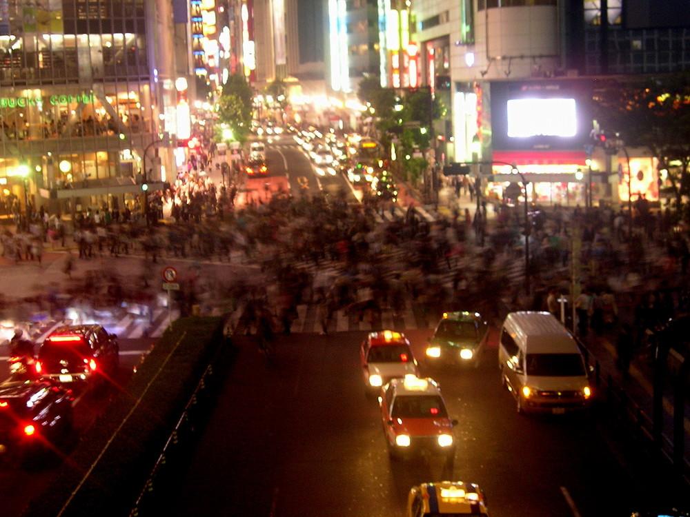 Tokyo Crossing Shibuya Station