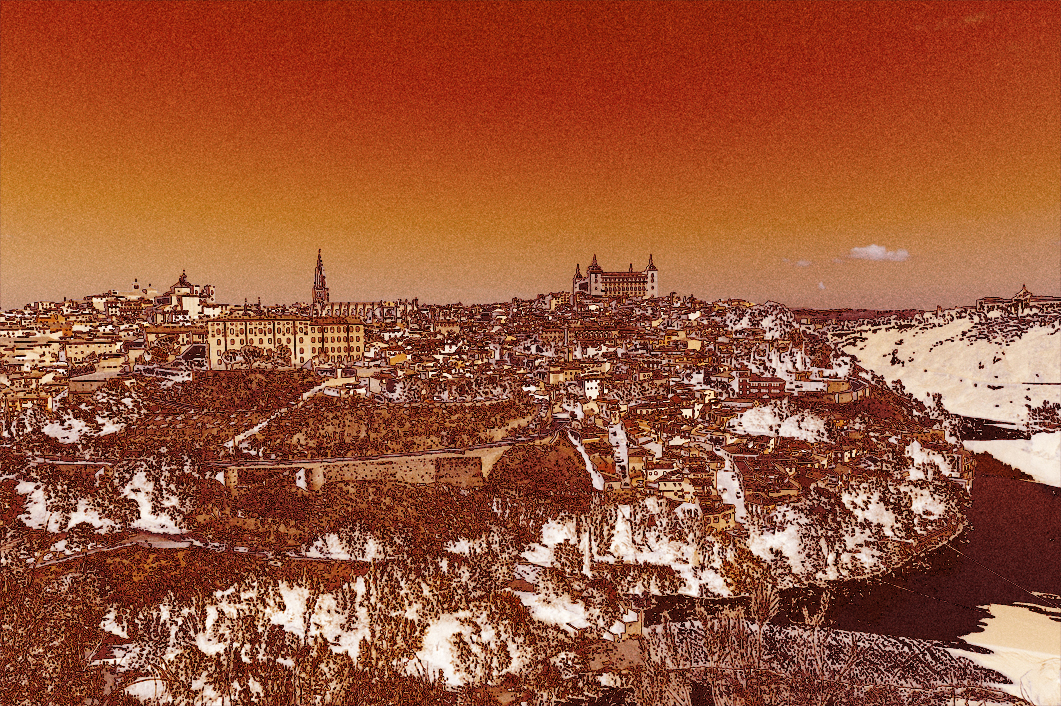 Toledo a trazos