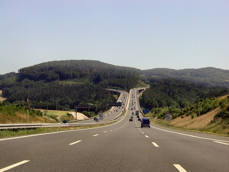 Tolle Autobahn A9 Nürnberg Richtung Bayreuth