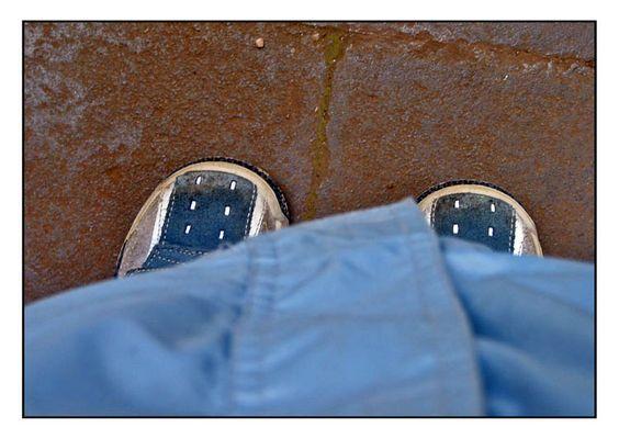 Tolle Schuhe - hier muß man ganz schön viel laufen (De0085)