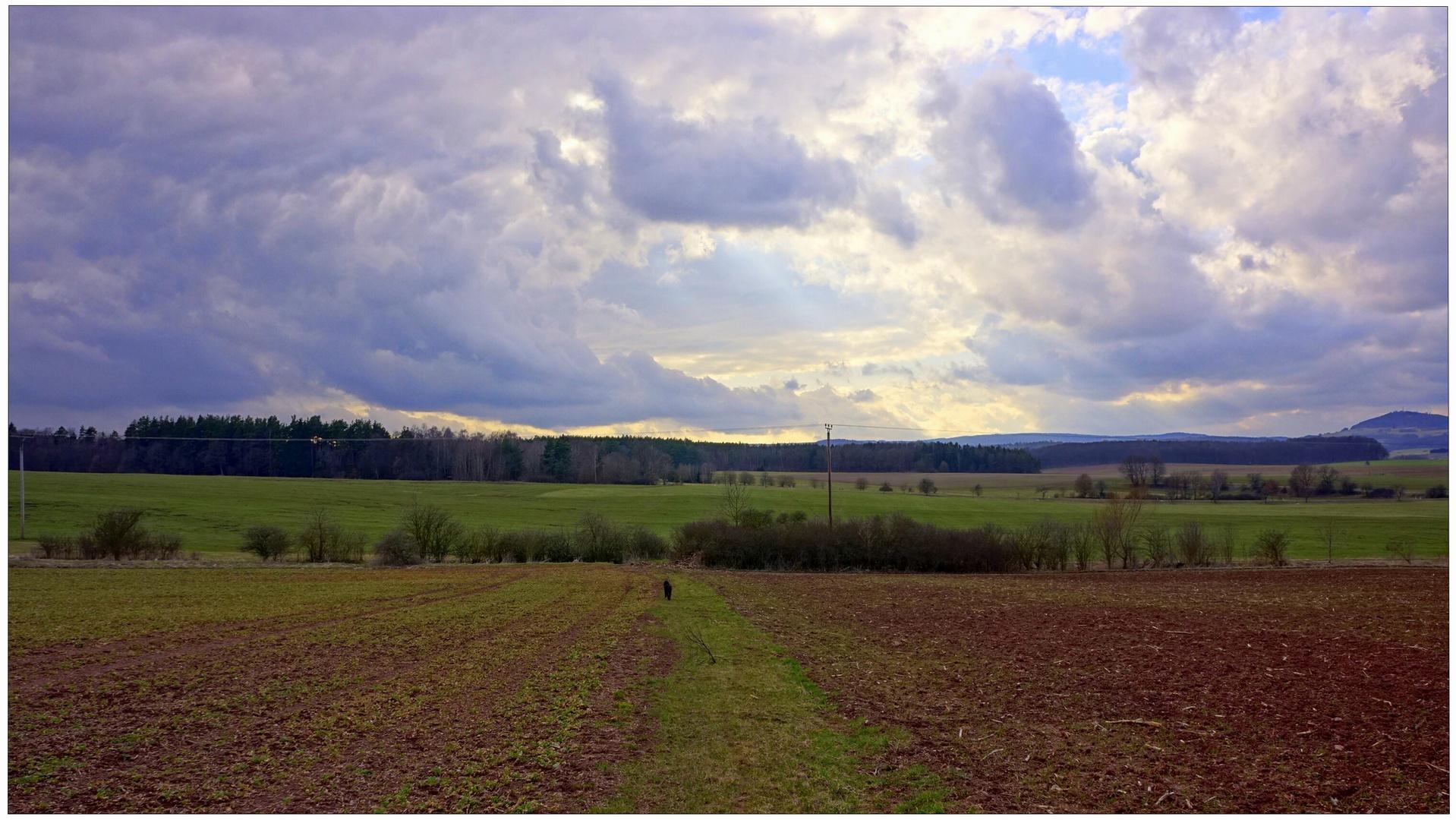 tolle Wolkenformationen II (formaciones de nubes fantásticas II)