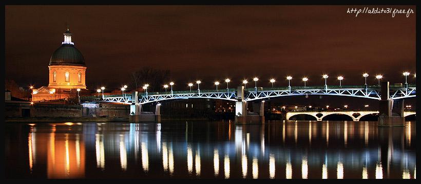 Tolosa by night