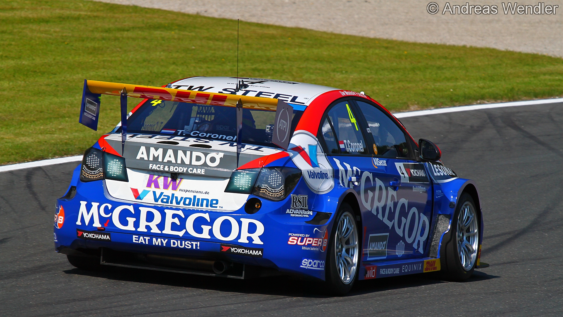 Tom Coronel - Chevrolet RML Cruze TC1