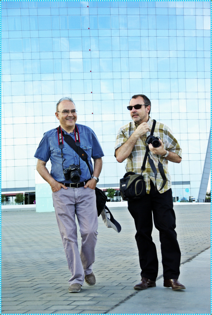Tomás y Salvador. Dos de los grandes !!!
