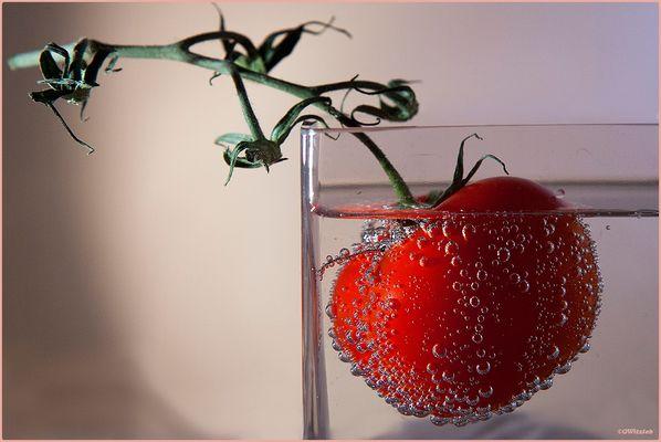Tomate en effervescence