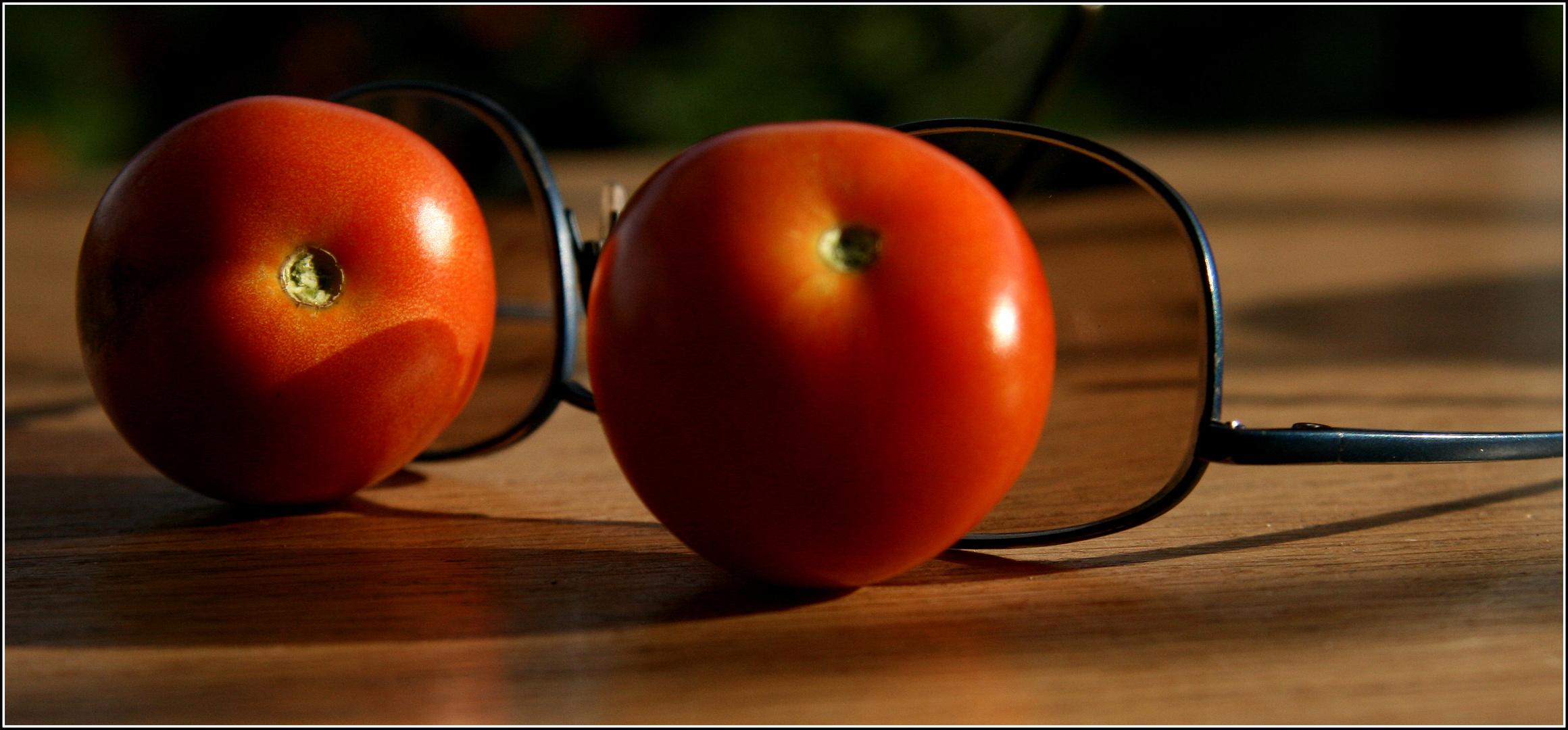 tomaten auf'de augen ??