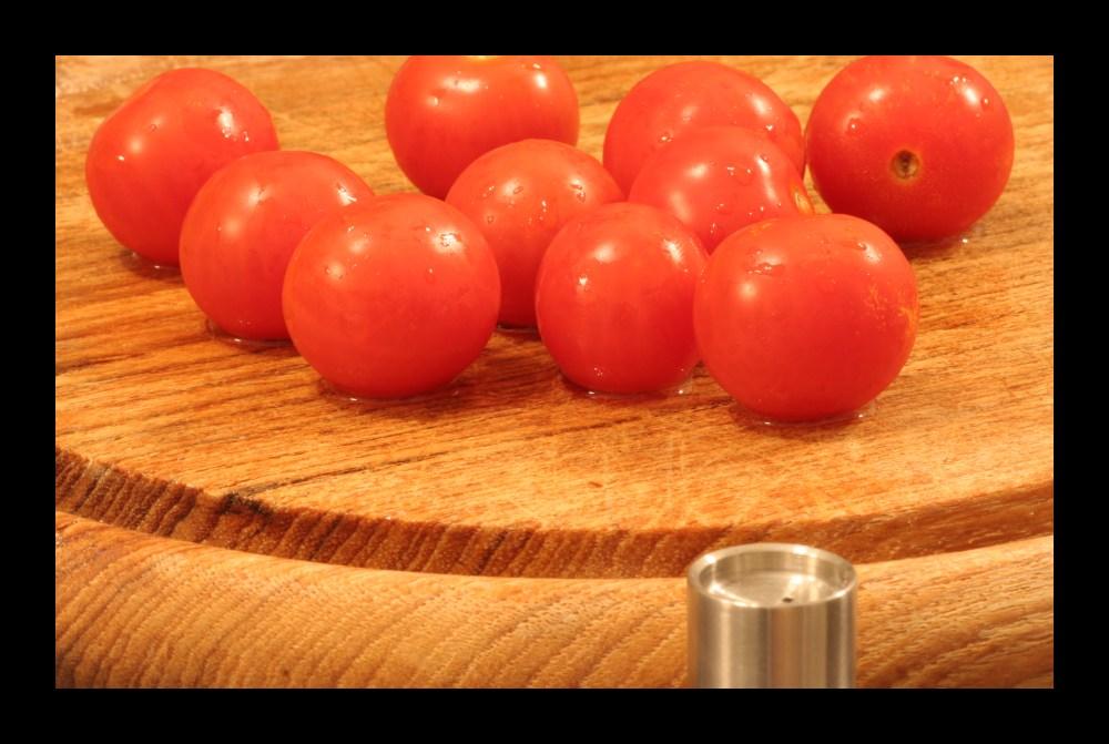 Tomaten gewaschen