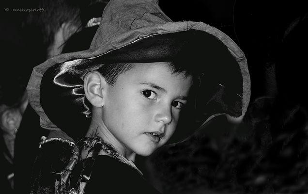 Tommaso et son chapeau