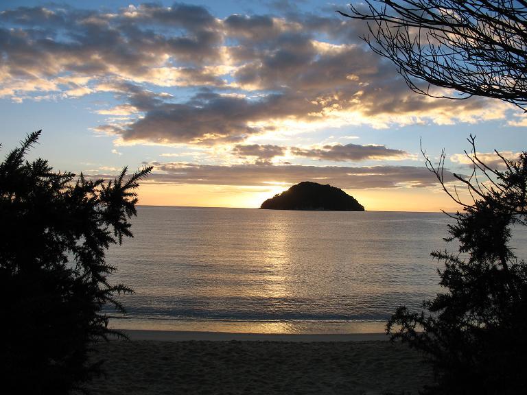 Tonga Island Sunset
