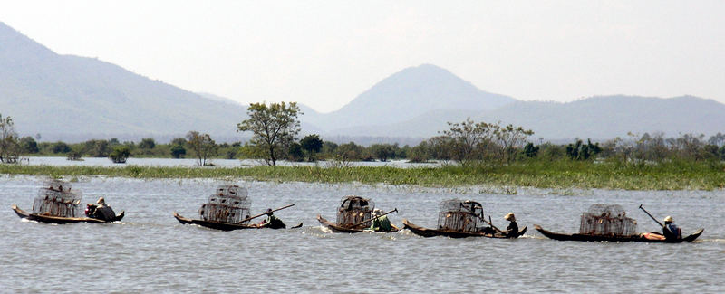 Tonle Sap Lake - Boats