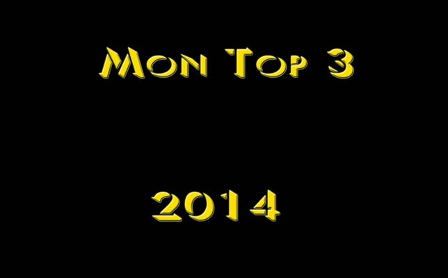 TOP 3 ANNEE 2014