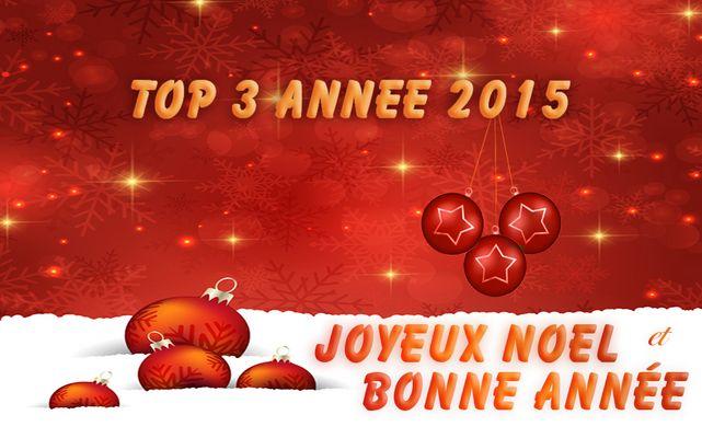 top 3 année 2015