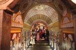 TOP 3: die Stadt Kandy: Eingangsgewoelbe am Zahntempel Sri Lanka