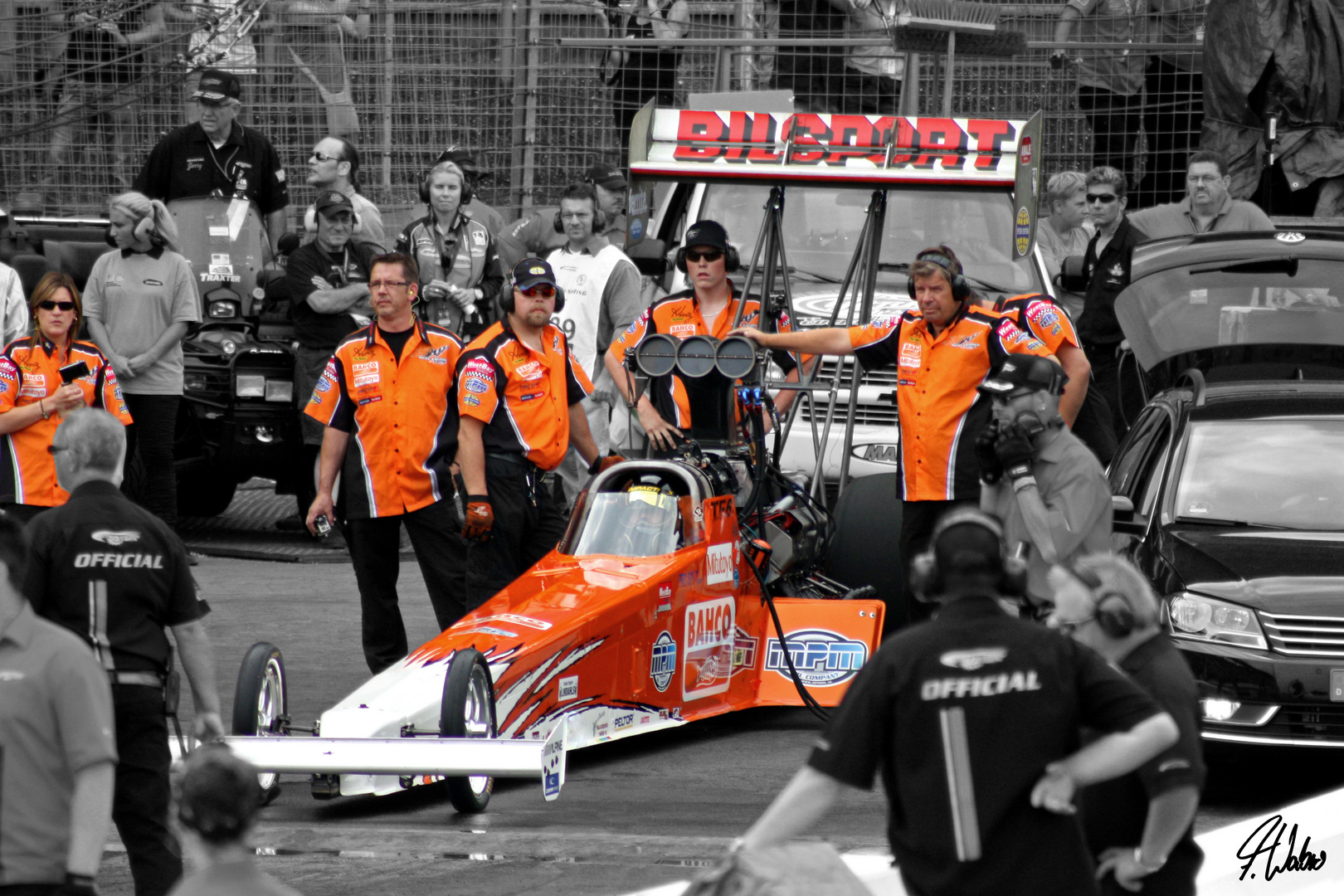 Top-Fuel - Racing Team Micke Kagered