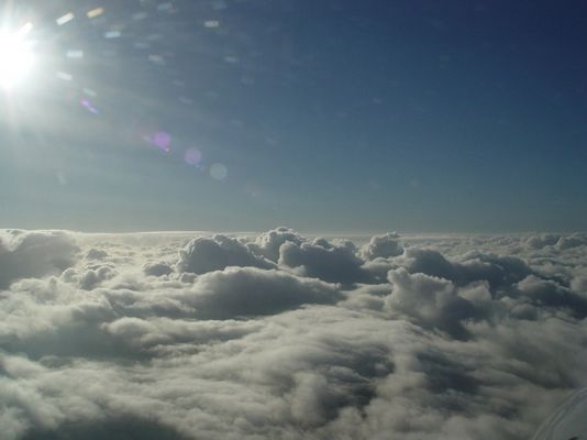 top of clouds at 6500ft msl